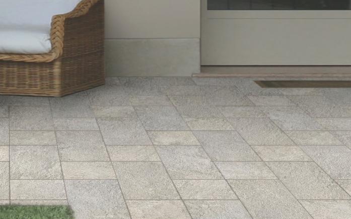Ceramiche pronte effetto pietra stone life gres - Piastrelle da esterno 50x50 prezzi ...