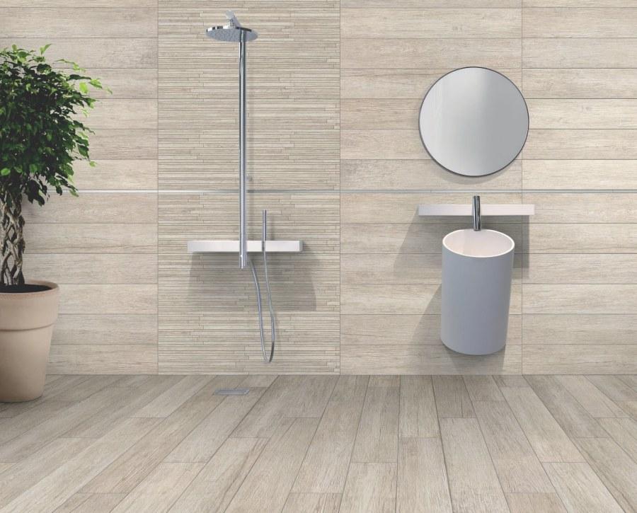Pavimento bagno gres effetto legno i 10 rivestimenti pi - Gres porcellanato effetto legno per bagno ...