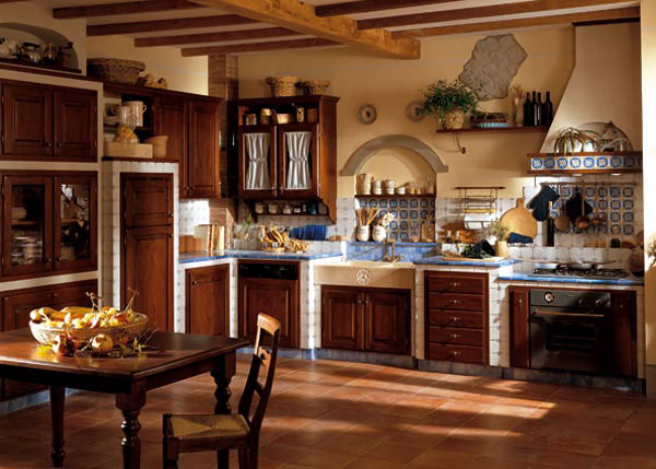 Cucina Country In Muratura. Aurora Cucine With Cucina Country In ...