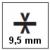 Spessore 9.5 mm